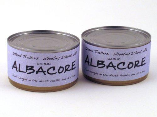 albacore-tuna-troll-caught-dolphin-safe-sashimi-grade-north-pacific-pack-of-2-garlic-212-g-75-oz-eac