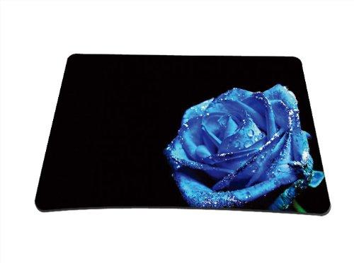 Luxburg® Design Mousepad Mausunterlage Mauspad, Motiv: Blaue Rose