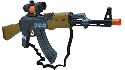 euggewehr Spielzeug Gewehr Submachine & Gun AK -47 Projector ()