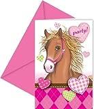 Horses Einladungskarten & Umschlag 6 S