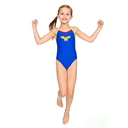 Zoggs Girls' Wonder Kerrawa Strikeback Swimsuit