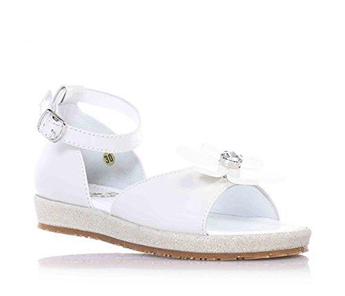 SAUSALITA - Sandalo bianco, Bianco Bambina-35