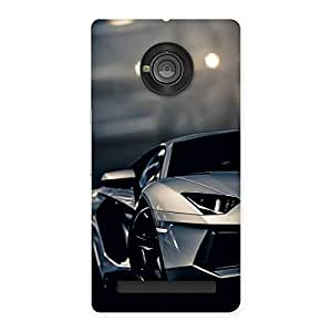 Royal Car Multicolor Back Case Cover for Yu Yuphoria