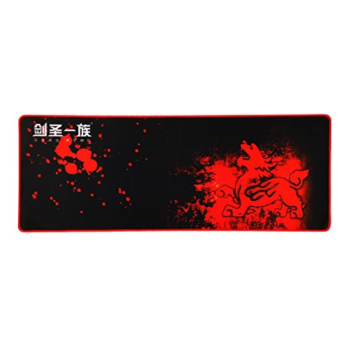 Alfombrilla de Ratón Suave Grande para Gaming Estupenda del Cojín de Ratón (800 x 300mm) con la Imagen de Piqiu Cojín Alfombrilla de Ratón