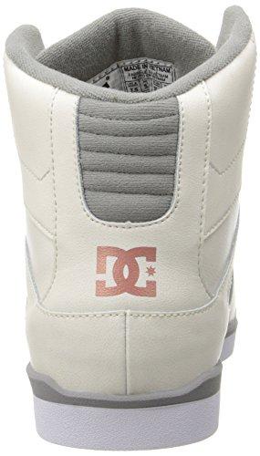 DC Shoes Rebound Slim Hi, Baskets mode femme Marron - Braun (TAN - TAN)