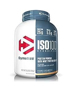Dymatize Nutrition ISO 100 - 5 Lbs (ORGANGE DREAMSICLE)