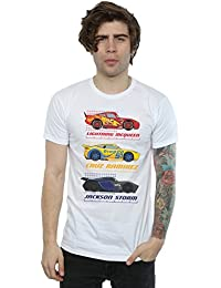Disney Men's Cars Racer Profile T-Shirt