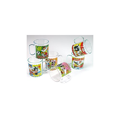 Boccale Mini Plastica Decorato 0,25L