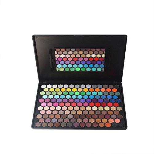 PhantomSky 149 Colores Sombra De Ojos Paleta de Maquillaje Cosmética con Corrector, Polvo, Rubor y Brillo de labios - Perfecto para Uso Profesional y Diario