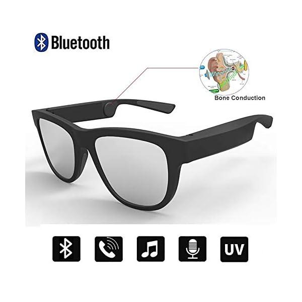Auriculares Estéreo, Auriculares Bluetooth Gafas De Sol Música Auricular Sin Manos De Conducción Gafas Deportivas… 1