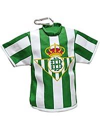 Real Betis BALOMPIE Portatodo con Forma de Camiseta y mosqueton
