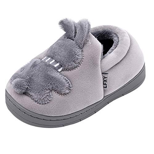 YU'TING◕ღ◕Pantofole Donna Uomo Invernali Pantofole per Ragazzi Ragazze Donna Inverno Pantofole Peluche Home Scarpe Autunno da Interno Casa Cotone Scarpe Animale Antiscivolo Ultra-Leggero