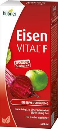 hübner Eisen Vital® F Eisen Liquid Trinksaft 500 ml