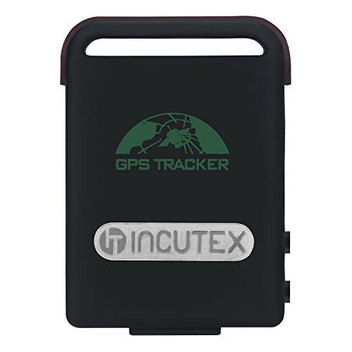 Incutex traceur traqueur localisateur GPS TK104 pour personnes et véhicules – antivol