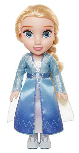 Frozen 2 Frozen II Princesa Elsa Muñeca Toddler, Color Set (Jakks Pacific 207051)