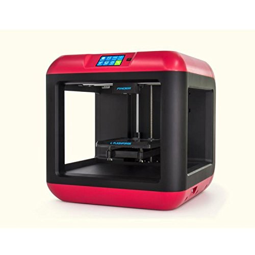FlashForge-Finder-Impresora-3D-Color-Negro-y-Rojo