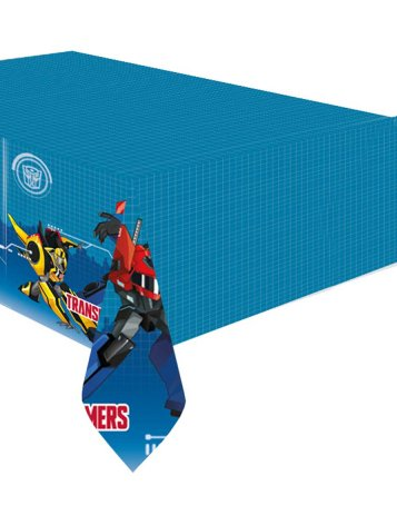 Amscan International 99013051,2x 1,8m Transformers Robots In Disguise Kunststoff Tisch Cover