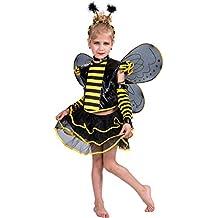 EraSpooky Costume Set dolce Ape con Cerchietti per capelli e Ali Carnevale Bambini