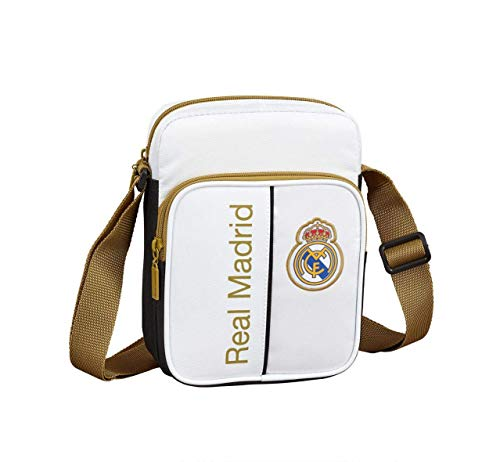 Safta 611954672 Real Madrid 19/20 Bolso bandoler 16x22x6