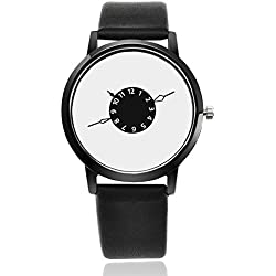 Woman, quartz watch, fashion, leisure, personality, PU leather, W0497