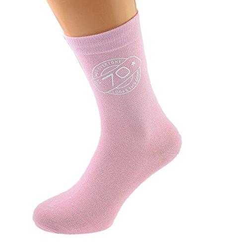 GTR-Prestige Giftware Not Everyone Looks This Good At 70 Ladies Pink Socks 70th Birthday UK 4-8 EUR 37-41 - X6N754-70