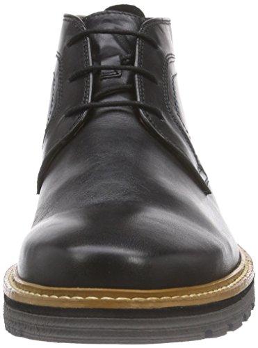 Clarks Newkirk Top, Herren Kalt gefüttert Kurzschaft Stiefel Schwarz (Black Leather)