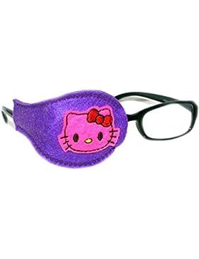 Bambini e adulti per Orthoptic Eye Patch Amblyopia Lazy Eye Occlusion trattamento terapeutico#31 kitty, colore...
