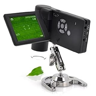 AGENTE007 Notebook Digital Microscope 500 X Magnification with LCD Display 3 & Quot;