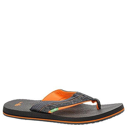 arancio Mens 2 Nero Sanuk carbone Maglia Sandalo Accoglienti Birra 8wFtqC8