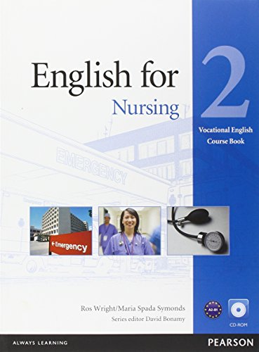 English for Nursing Level 2 Coursebook and CD-ROM Pack (Vocational English)