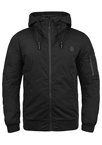 !Solid Tilly Sporty Herren Übergangsjacke Herrenjacke Jacke Mit Kapuze, Größe:M, Farbe:Black (9000)