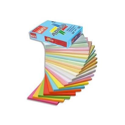 International paper- Adagio code 81 Ramette de 500 feuilles papier couleur pour imprimante laser/jet d'encre/copieur 80g Format A3 Vert vif