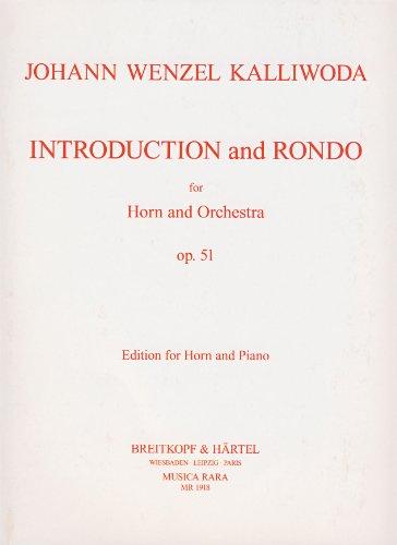 partitions-classique-musica-rara-kalliwoda-johann-wenzel-introduktion-und-rondo-op-51-horn-piano-cor