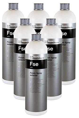 Koch Chemie 6x Fse Finish Spray exterior Schnellglanz Detailer Kunststoff 1 L -