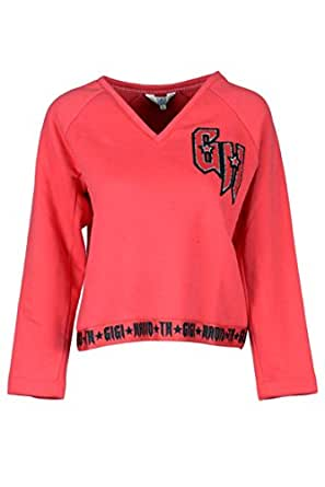 TOMMY X GIGI Womens WW0WW21683039 Grey Cotton Joggers