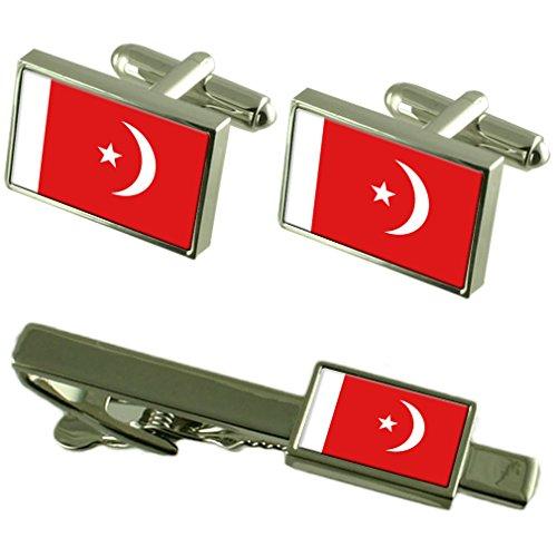 Umm al flag Qaiwan gemelli Clip la scatola di adattamento Set regalo