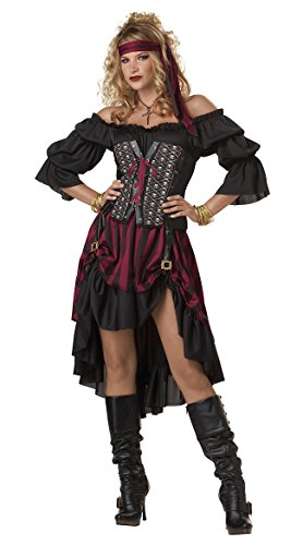Heißer Verkaufs-erwachsener Piraten-Schlüssel-Kostüm (Für Verkauf Et Kostüm)