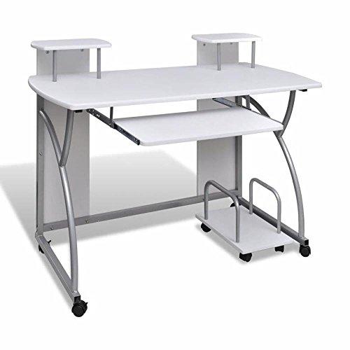 Generic Ice Home tastiera vassoio Ray Offic Pull Out Board Rolling di computer in ufficio casa mobili Compute tavolo scrivania