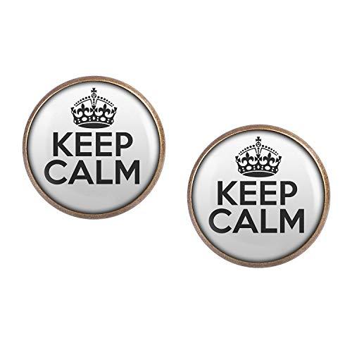 ar mit Motiv Keep Calm bronze 16mm ()