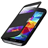 Q1 Flip Cover Tasche Samsung Galaxy Alpha G850/G850f Schutz Hülle Handytasche Schutzhülle Klapptasche Buchtasche Bookcase + Gratis Displayschutzfolie Folie und Microfasertuch!!