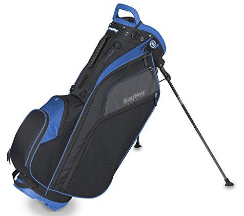Bag Boy BagBoy Go Lite Hybrid Stand Bag One Size Black/Slate/Royal (Boy Hybrid Bag)