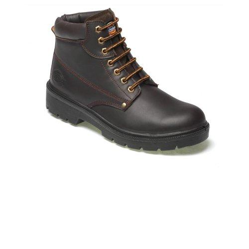 Dickies Antrim Safety FA23333 Stivali Uomo Marrone