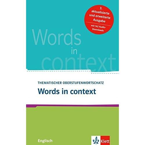 Pdf Words In Context Thematischer Oberstufenwortschatz Englisch Kostenlos Download Komplette Buchsammlung 81