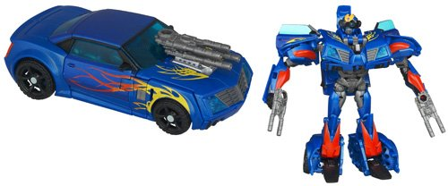 Transformers - 98738 - Prime - Robots in Disguise - Wave 1 - No. 009 - Deluxe Class - Level 2 - Autobot Hot Shot - 14 cm