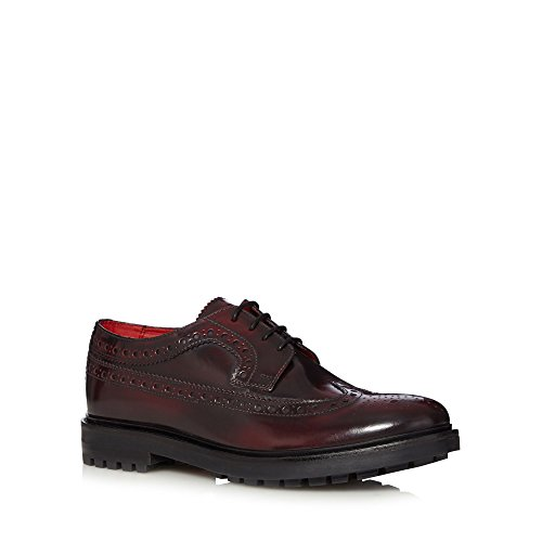 Base London, Scarpe stringate uomo, viola (bordeaux), 42 EU