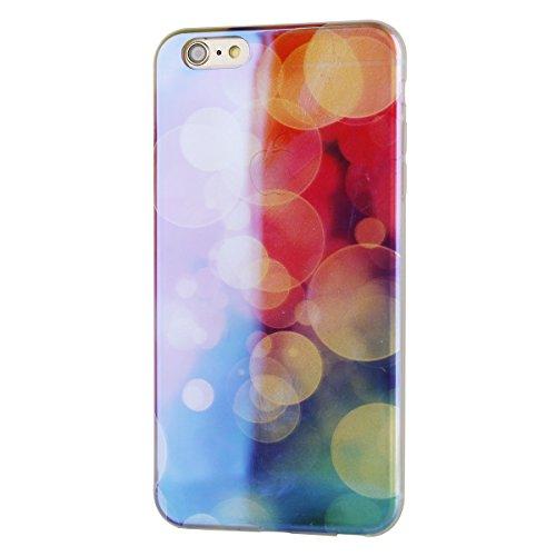 iPhone 6S Plus Hülle, iPhone 6 Plus Hülle, iPhone 6 Plus/ 6S Plus Silikon hülle Tasche mit Schimmel Malerei Muster, SainCat Protective Silikon Hülle Case Tasche Handyhülle [Kratzfeste, Scratch-Resista Blu-ray-Blase