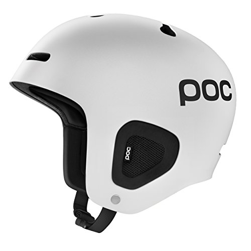 POC Auric - Casco de esquí unisex adulto, color Blanco (Hodrogen White),...