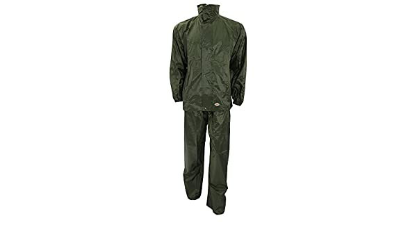 Dickies WP10050 DG XL Size X-Large Vermont Water Resistant Suit Dark Green