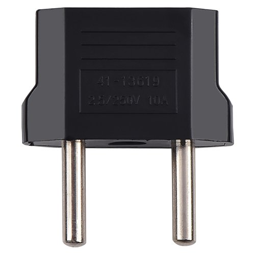 10x New Black AU / U.S. to EU Travel Adapter Plug AC Adapter U.S. AU Europe - Black Ac Adapter