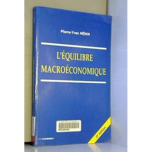 L'équilibre macroéconomique
